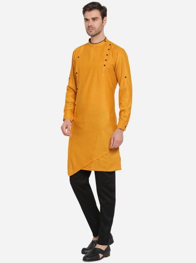 Yellow Kurta Set | Azania