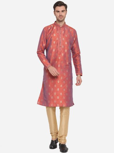 Rust Kurta Set | Azania