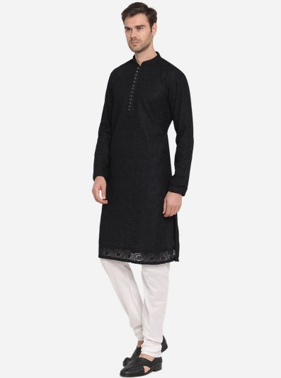 Black Kurta Set | Azania