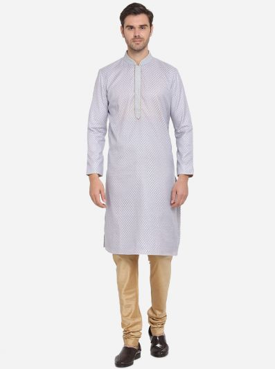 Light Blue Kurta Set | Azania