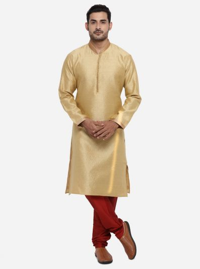 Golden Kurta Set | Azania