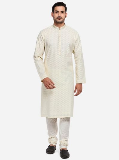 Cream Kurta Set | TULA by Siddhesh Chauhan