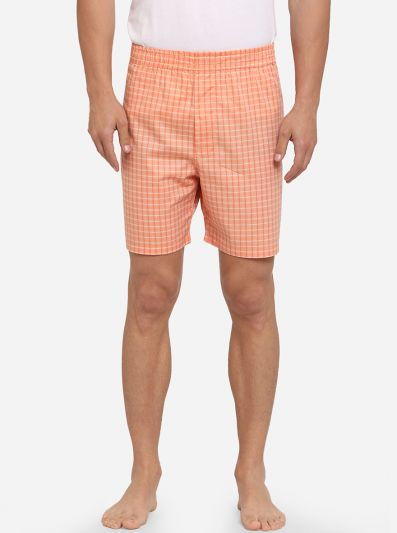 Fusion Coral Printed Regular Fit Boxer Shorts | JadeBlue