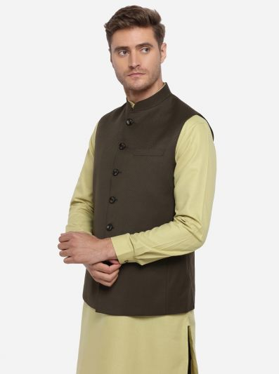 Dark Brown Modi Jacket | JadeBlue