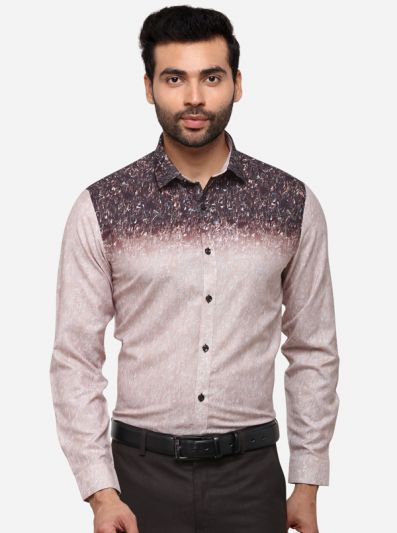 Multi Slim Fit Printed Party Wear Shirt | JB Studio