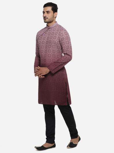 Purple Kurta | Azania