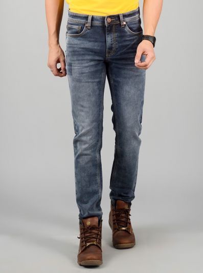 Flint Stone Washed Slim Fit Jeans | JB Sport