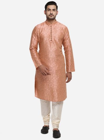 Peach Kurta Set | Azania