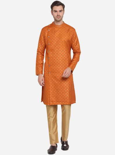 Orange Kurta Set | Azania