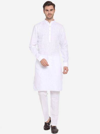 White Kurta Set | Azania
